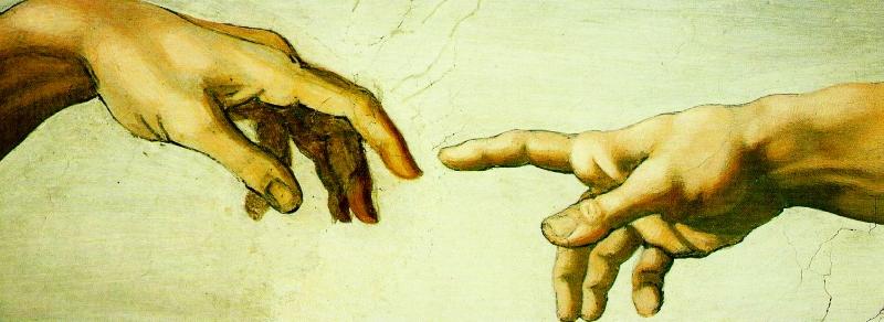God Adam Hands
